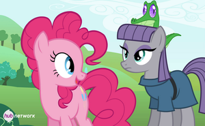 MLP FiM- *Image Spoiler* Meeting Maud Pie by Fluffation