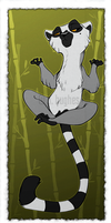Tranquil Lemur by beffalumps