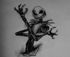 Jack Skellington by MrsLordLoss