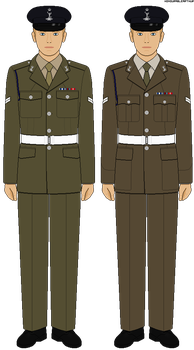 [British Army] - No.2 Uniform (Other Ranks) by HonourableArthur