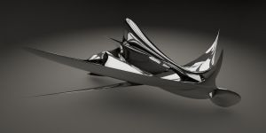 Abstract Form 3D by Valadj