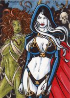 Lady Death Pestilence by ElainePerna