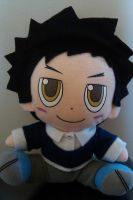 KHR Plush Yamamoto Takeshi by Bluedragoncartoon