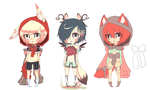 Cats and Rabbits and Foxes, Oh My! Adopts {OPEN} by chuguri