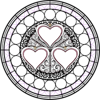 Stained Glass Template 5 by Maleficent84