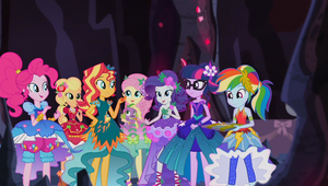 MLP EQG Legend of the Everfree Moments 27 by Wakko2010