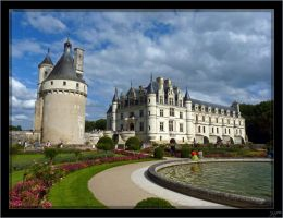 Chenonceaux - 1 by J-Y-M