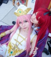 Magi the labyrinth of magic Cosplay Kouha Koumei by LalaxLajui