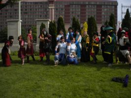 Avatar Photo Shoot at Anime North 2012 by CodyandGwen