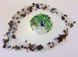 A natural eye for sea glass by embae