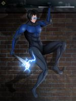 Nightwing by MLJ-Lucarias