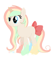 Ice Cream Pony Auction ((CLOSED)) by iVuiAdopts