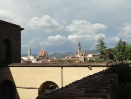 Firenze from Boboli Gardens by nightshade-keyblade