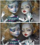 Two Lagoonas - OOAK Repaint by kamarza