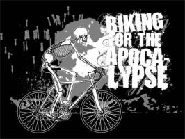 Biking For The Apocalypse by scumbugg