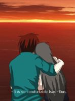Rias and  Isao  Sunset - Gif by Rias-Chan