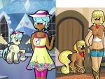 CLEARANCE: Two-for-one Pony/Human Adopt OPEN by PrincessEbet
