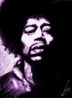 Jimi Hendrix by NelsonTWaters