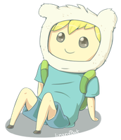 Chibi Finn by LizardBat
