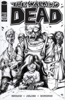 The Walking Dead Cover Art by bryancollins