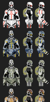 MA Soldiers: Camo Set by B0XAB0T