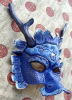 Chinese Water Dragon Mask v.2 by b3designsllc