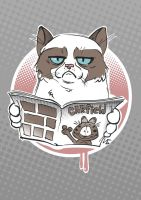 Grumpy Cat by berov