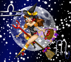 Costume Design: October Pin-up by caleigh