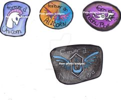 Badges 2 Watermarked by Paws-Prints