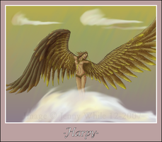 Mythical Creatures-Harpy by BlueEyesBlackTears