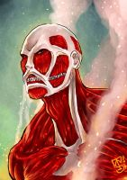 Colossal Titan by ckt