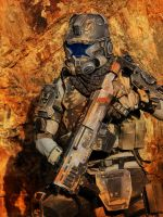 Titanfall IMC Pilot Cosplay by CpCody