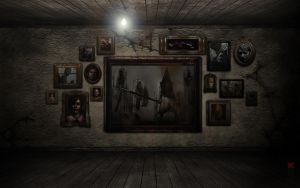 Silent Hill - the pic-room by Cerberus071984