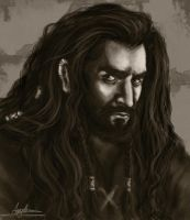 [UPDATED] Thorin Portrait by AngieParadiseeker