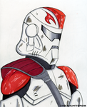 ARC Trooper 77- Captain Fordo by TheXHunter08