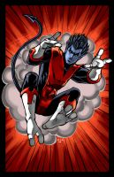 X-MEN-Nightcrawler by ErikVonLehmann