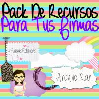 Recursos Para Tu Firma by PinkLifeEditions