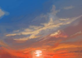 I love Clouds_1 by pizzaplanet