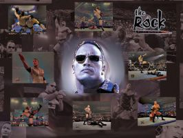 The Rock - Wallpaper by FeelLike