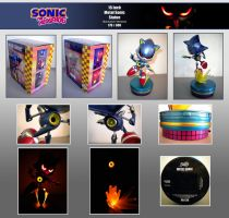 F4F Classic M. Sonic Statue by Fuzon-S