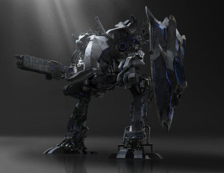Mech Concept by AdrianDIS