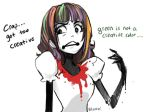 Green Is Not Creative by Elentori