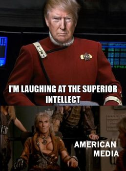 Trump is laughing at you..... ps... we are too by Jim-News-Photos