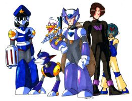 Megawoman - Misc Bad Guys by General-RADIX