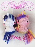 Princess Cadence and Shining Armor by milliemouse579