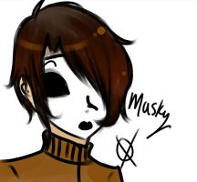 Masky by Riot-For-Me