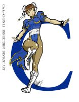 C is for Chun Li by Inspector97