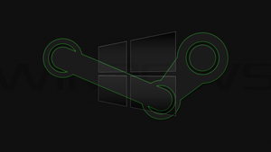 Windows 10 Steam Edition Green Desktop Wallpaper by DarkKnight2264
