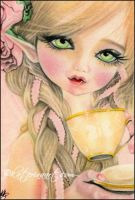 Fairy Tea Party by Katerina-Art