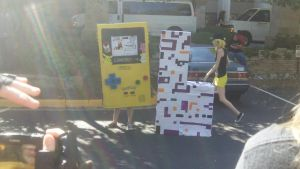 NDK 2012 GameBoy Color and Missigno by Ender-Sammi